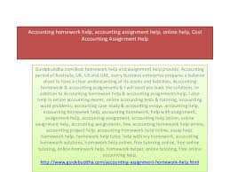 Accounting homework help  accounting assignment help  online help  Co    SlideShare Accounting homework help  accounting assignment help  online help  CostAccounting Assignment HelpGuidebuddha com