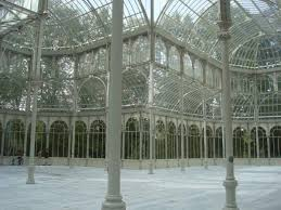 Resultado de imagen de palacio de cristal madrid