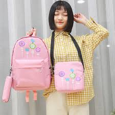 <b>Women</b> Canvas <b>Backpack</b> Travel Bags School Bags For Students ...