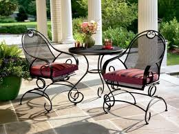 the following information will be of interest to those who are looking for the best material that is available for outdoor patio furniture black wrought iron patio furniture