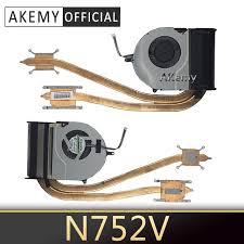 Akemy <b>New Original Laptop</b> Notebook CPU Cooling Radiator ...