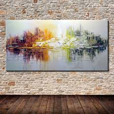 <b>Hand Painted</b> Canvas <b>Oil Paintings Modern Abstract Oil Painting</b> On ...
