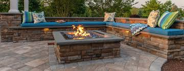 Cast <b>Stone Wall Square</b> Fire Pit Kit | EP Henry