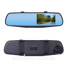 <b>Видеорегистратор</b>-зеркало <b>Vehicle Blackbox DVR</b> Full HD, черный