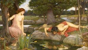 echo mythology echo and narcissus john william waterhouse 1903 walker art gallery liverpool