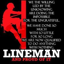 Power Lineman Quotes. QuotesGram