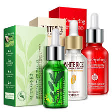 ROREC <b>3pcs</b> Face <b>Serum</b> White Rice Natural Green Tea Seed ...