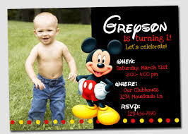 personalized mickey mouse invitations com personalized mickey mouse invitations appealing combination of various color on your invitatios card 12