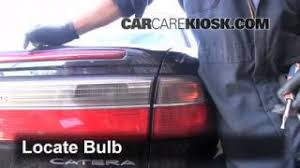 blown fuse check 1997 2001 cadillac catera 1999 cadillac catera tail light change 1997 2001 cadillac catera