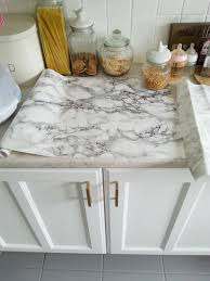 diy super cheap easy marble look counters done contact paper diy super cheap easy marble look counters done contact paper makedoanddiy