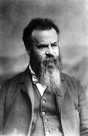 「In 1869, geologist John Wesley Powell led a group of 10 men in the first difficult journey down the rapids of the Colorado River」の画像検索結果
