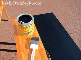 how to stain furniture black instead of painting black painted furniture ideas