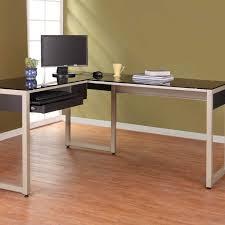 glass computer desk office furniture zoose black l shaped metal affordable home decor home astounding furniture desk affordable home computer desks