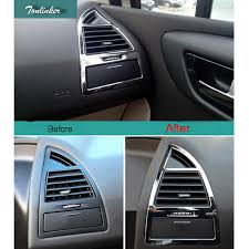 Tonlinker <b>2 Pcs Car Styling ABS</b> Dashboard beside air vent light ...