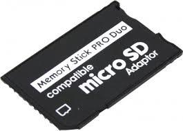 <b>Адаптер Espada</b> E <b>microSD</b> в Memory Stick Pro DUO