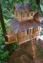 images about treehouse ideas on Pinterest   Treehouse Ideas     Story Tree House   Simply amazing story tree house    Treehouse Ideas