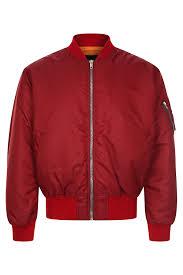 Куртка-бомбер <b>Calvin Klein 205W39NYC Куртка</b> Бордовый на ...