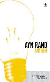 panther print the most important books to in high school anthem by ayn rand anthem book cover