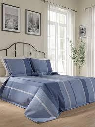 Купить комплект штор «<b>Олистер</b> (синий)» синий/голуб. по цене ...