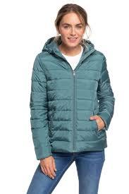 <b>Куртка женская</b> Roxy <b>Rock</b> Peak J Jckt, цвет: зеленый ...