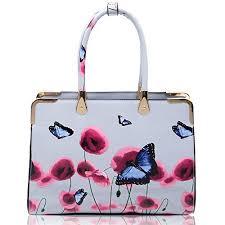 Light Grey Craze London <b>Ladies Womens Fashion</b> Designer <b>Patent</b> ...