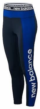 New Balance Women's <b>Relentless Graphic High</b> Rise 7/8 Tight Blue ...