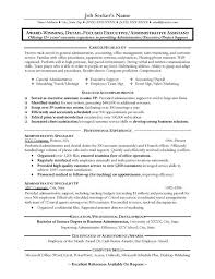 administrative assistant resume examples berathencom administrative assistant job resume examples