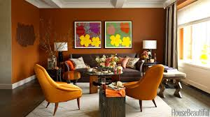 orange midcentury modern chairs burnt orange living room furniture