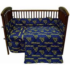 West Virginia Mountaineers <b>Baby Crib</b> Fitted Sheet <b>Pair</b> | Walmart ...