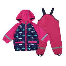 Gagacity Unisex <b>Baby Kids</b> Waterproof & Windproof Raincoat <b>and</b> ...