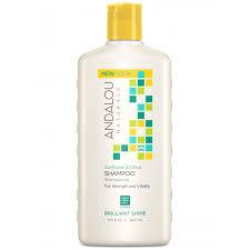 Andalou Naturals Sunflower & Citrus <b>Brilliant Shine Shampoo</b> ...