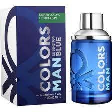<b>Benetton Colors Man</b> Blue EDT 100ml - Clicks