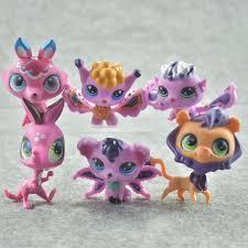 QWOK <b>24Pcs</b>/set <b>LPS</b> Dolls Rare Pet Shop Action & Toy Figures ...