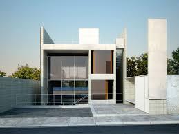 Architect Design House Plans  carldrogo comprefab home design idea   white wall   frameless glass windows and gray floor tile along   breathtaking balcony ultra modern prefab home design