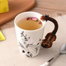 Креативная Музыка Скрипка Стиль гитары Керамика <b>кружка</b> ...