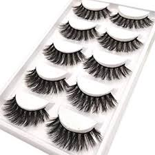 CerroQreen Eyelashes Thick Curly Fashion Lashes <b>5 Pairs 3D Mink</b> ...