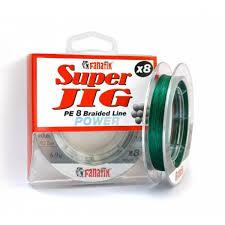 Шнур <b>FANATIK Super</b> Jig PE X8 100 м. 0.12мм. green — купить в ...