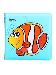 <b>Книжка</b> с пищалкой, 6+, рисунок: рыбка <b>Canpol</b> babies 3675424 в ...