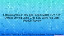 "Rambowill <b>2Pcs</b> 4"" 18W CREE <b>LED Work Light</b> bar Flood beam 60 ..."