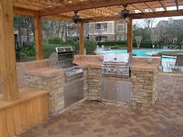 Outdoor Patio Kitchen Best Backyard Kitchen Designs And Photos