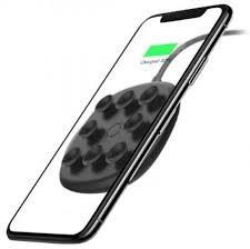 Беспроводная <b>зарядка</b> для телефона быстрая <b>Baseus Suction</b> ...