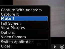 Camera Mute App