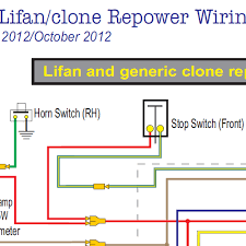honda ct70 lifan &clone wiring diagram w electric starter home Lifan Wiring Diagram ct70 clone lifan with electric starter lifan wiring diagram 125cc
