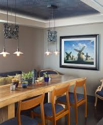 beautiful blue asian dining room with lovely pendant lighting design domusstudio architecture asian dining room beautiful pictures photos