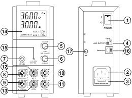 100W <b>Triple Output Switching Power</b> Supply User Manual 1403/1405