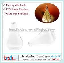 beadsnice id 26650 glass ball drop shape hand blown fashion bottle diy jewelry bottle pendant zakka blown glass bottle pendant