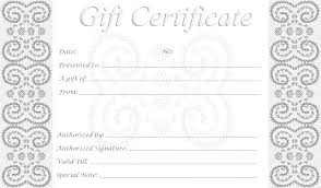 so i decided to create my own these printable gift certificates it