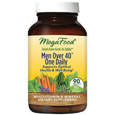<b>Men Over 40 One</b> Daily (90 Tablets) by Megafood at the Vitamin ...