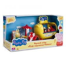 Игровой набор <b>Кафе</b>-<b>мороженое Ребекки</b> т.м <b>Peppa Pig</b> — купить ...