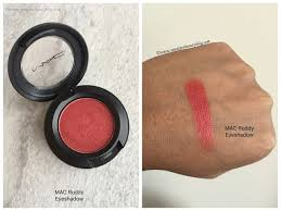 <b>MAC Ruddy</b> Eyeshadow Swatch | Mac makeup, Best mac makeup ...